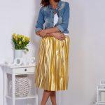 złote ubrania