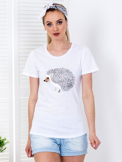 t-shirty z aplikacją